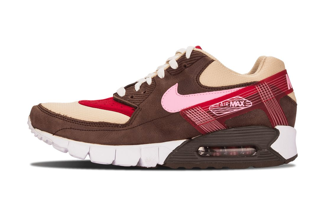 Dqm Nike Air Max 90 Current Huarache Pr Bacon 375576 261 Lateral