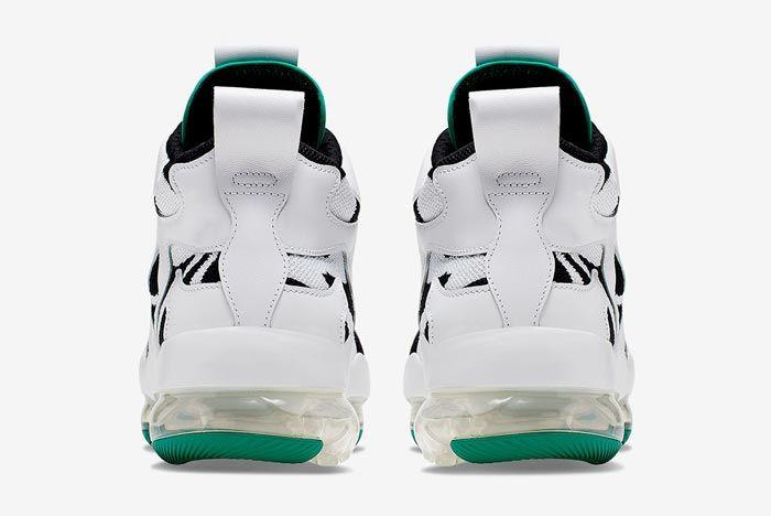 Nike Vapormax Gliese White Green Heels