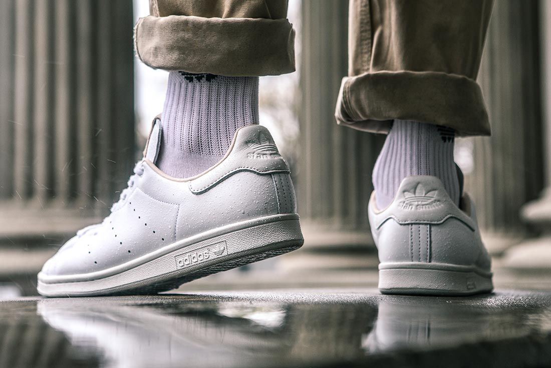 Adidas Stan Smith Home Of Classics On Foot Pointed Toe
