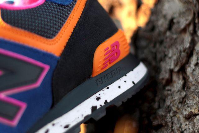 New Balance 574 90S Outdoor Pack Blue Orange Pink 3