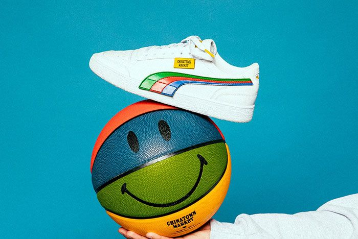 Chinatown Market Puma Sneaker Collaboration Release2 White Side