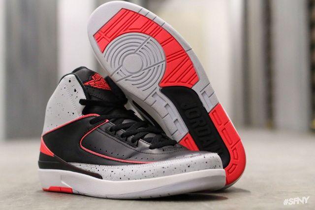 Air Jordan 2 Infrared Cement 1