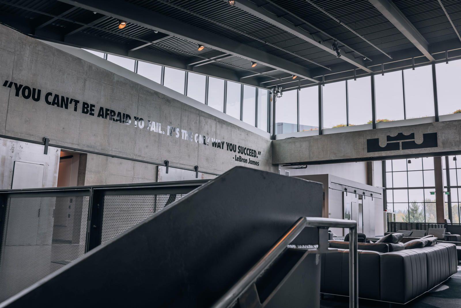 LeBron James Innovation Center at Nike's World Headquarters