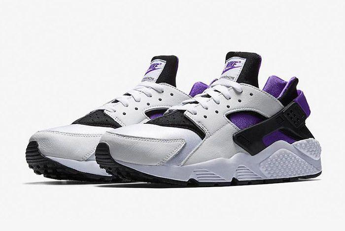 Nike Air Huarache Run 91 Qs 2018 Purple Punch 4