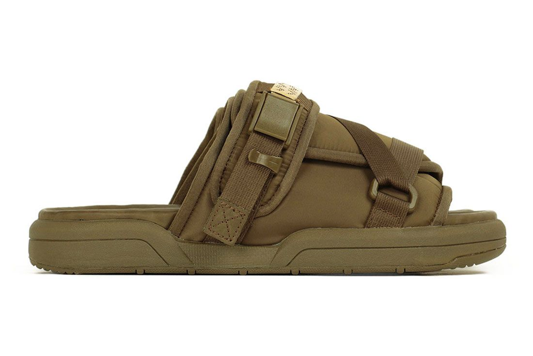 Visvim Christo Sandal Olive Right