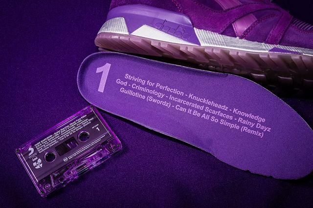 Raekwon X Diadora X Packer Purple Tape 7