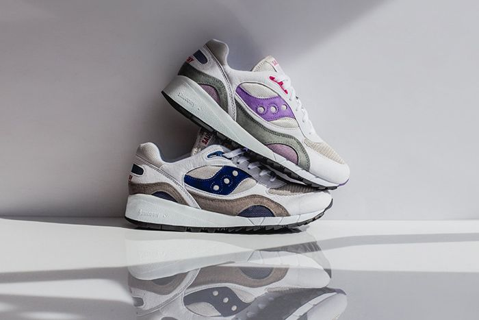 Saucony Shadow 6000 Grey Purple Navy S70441 Releae Date Lateral