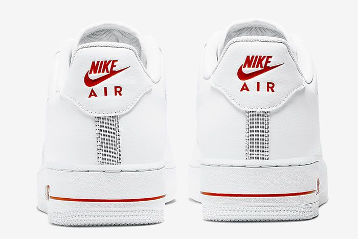 Nike Air Force 1 Low Jewel White Heel