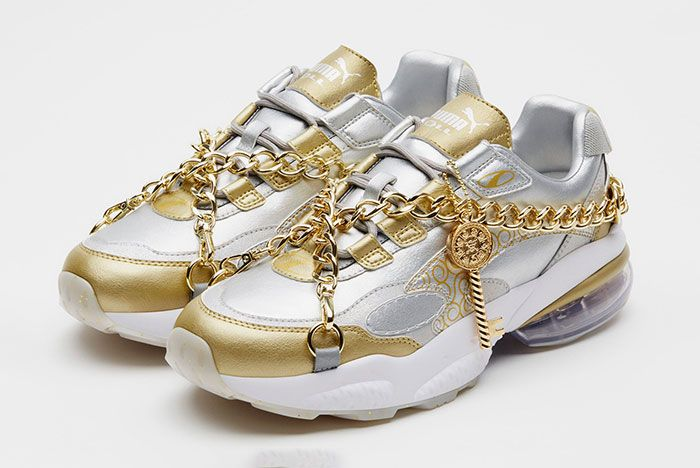 One Piece Puma Cell Venom Gold Release Info 3 Pair