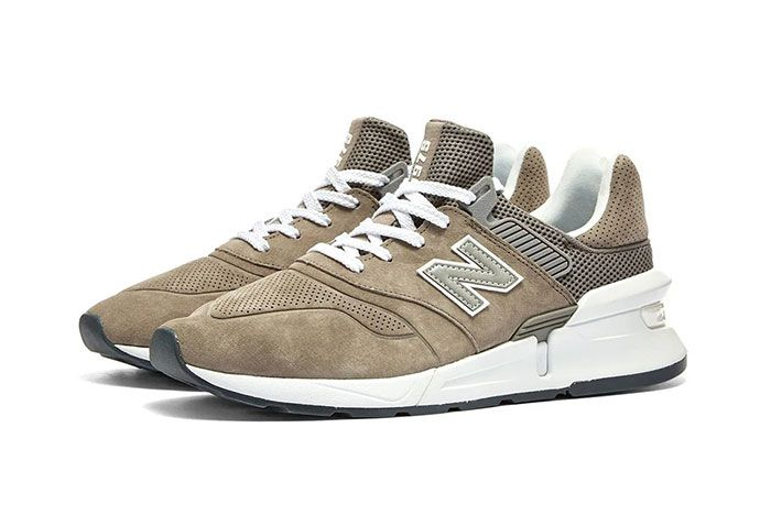 Commes Des Garcon New Balance Ms997 Brown Side2