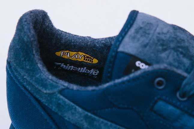Sneakersnstuff X Reebok Classic Inner Heel Detail 1