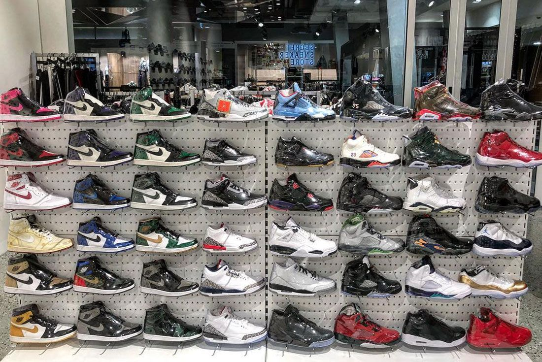 Secret Sneaker Store Melbourne Central1