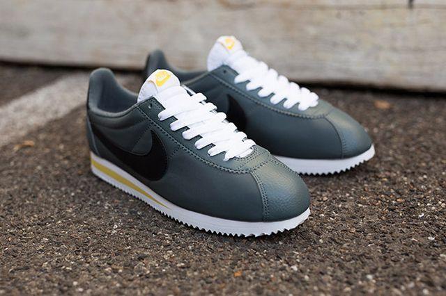 Nike Cortez Nylon Greyblackwhite 2