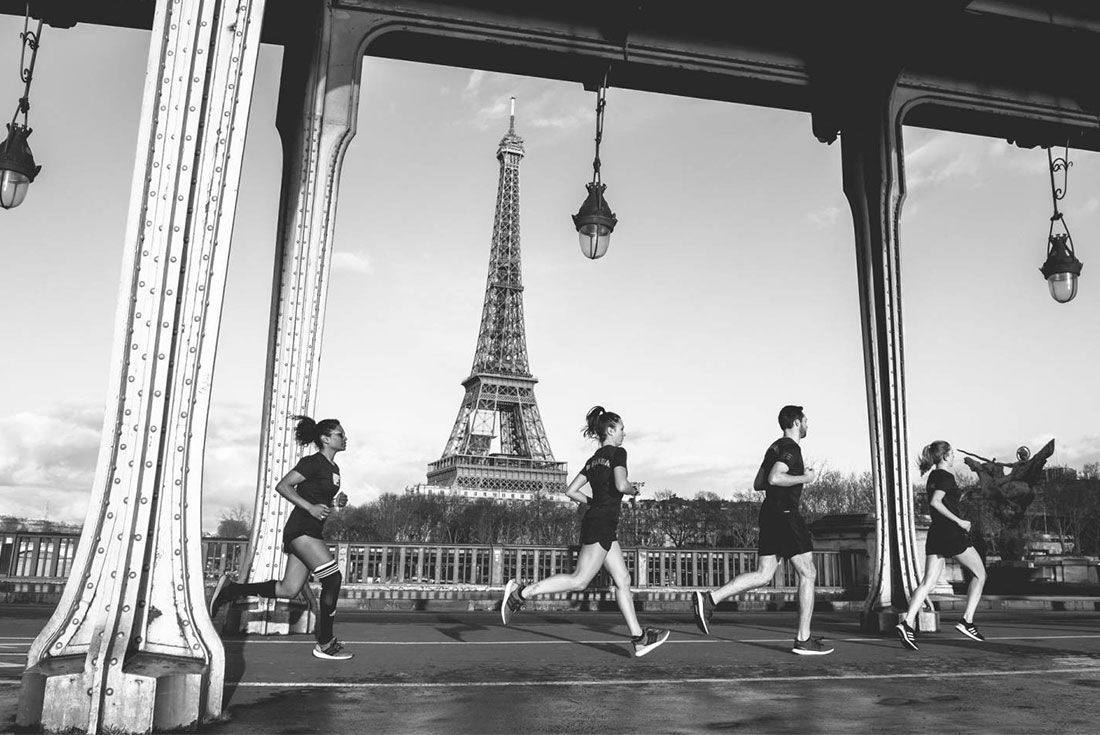 Eiffel Tower Adidas Runners