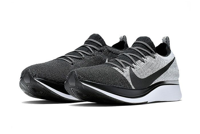 Nike Zoom Fly Flyknit White Black 6