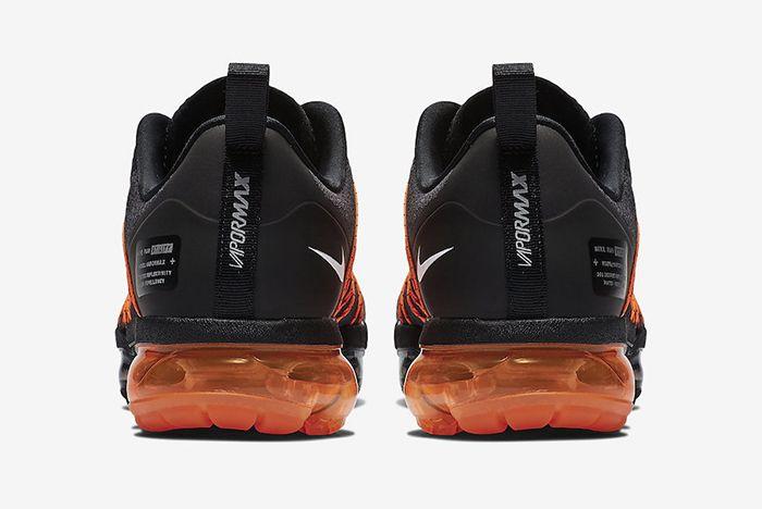 Nike Vapormax Run Utility Black Orange 4