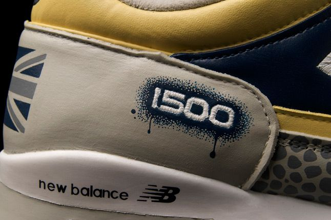 Benji Blunt New Balance Uk 1500 Custom Rap Spray Details 1
