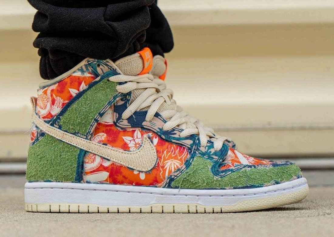 Nike SB Dunk High 'Maui Wowie'