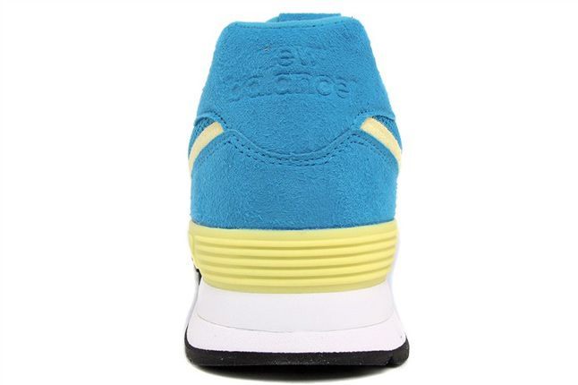 New Balance 574 Blue Yellow 06 1