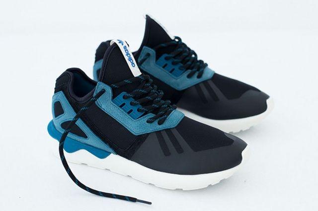 Adidas Tubular Two Tone Turquoise Black 01