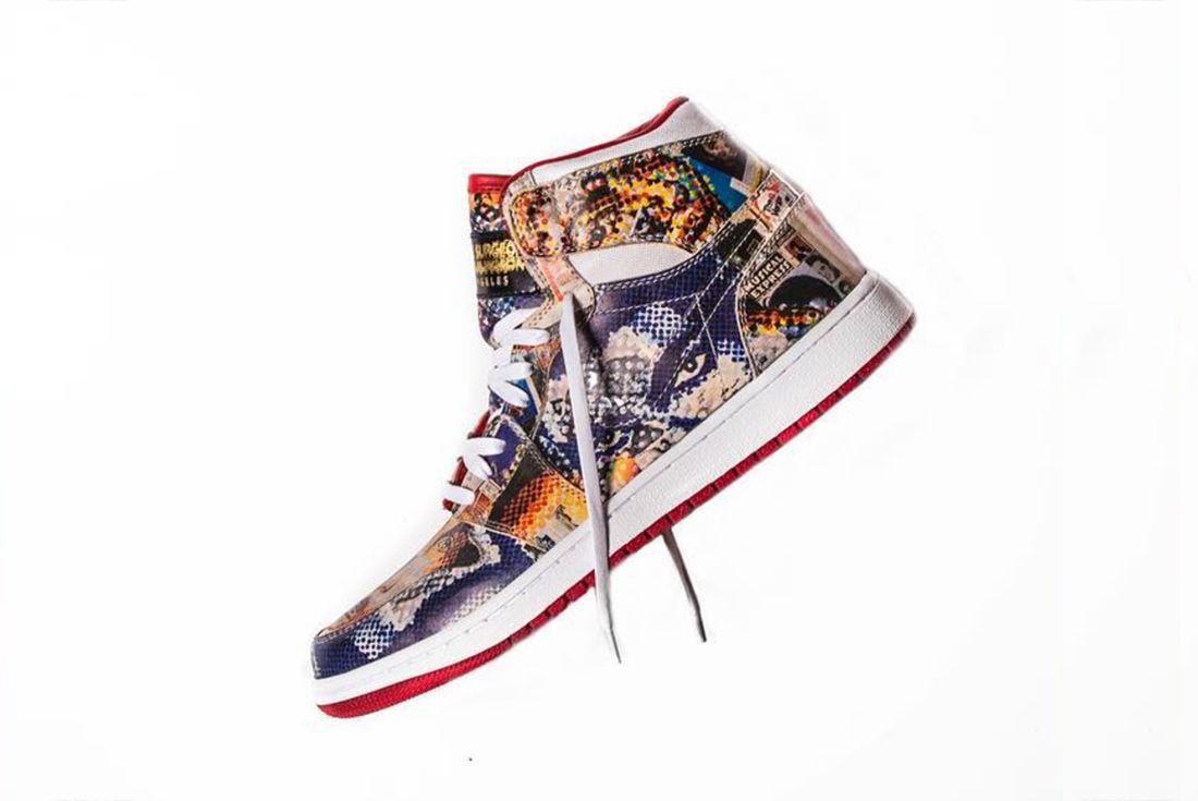 The Shoe Surgeons Latest Custom Turns Jordans Into Art6