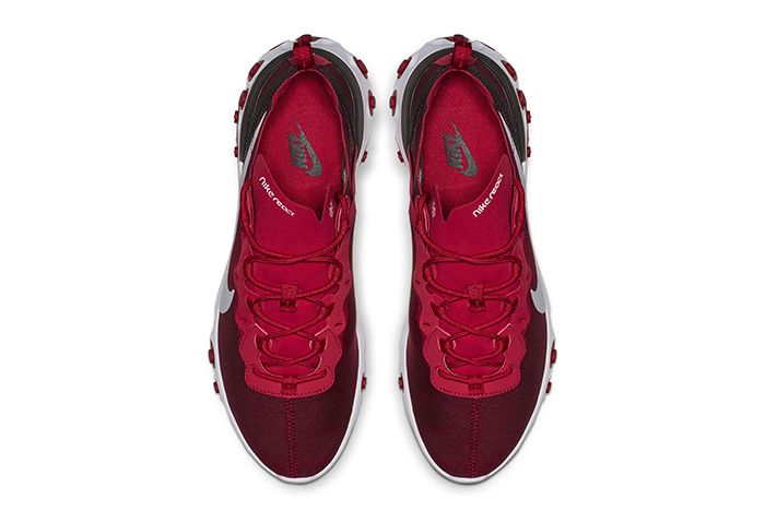 Nike React Element 55 Gym Red 2