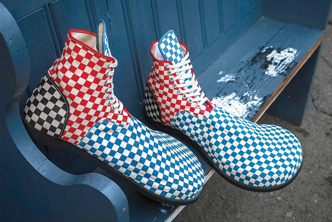 Vans Flapper Clown Shoes 1