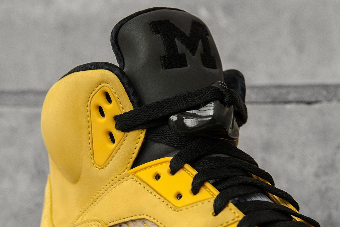Air Jordan 5 Fab Five Yellow Black 5