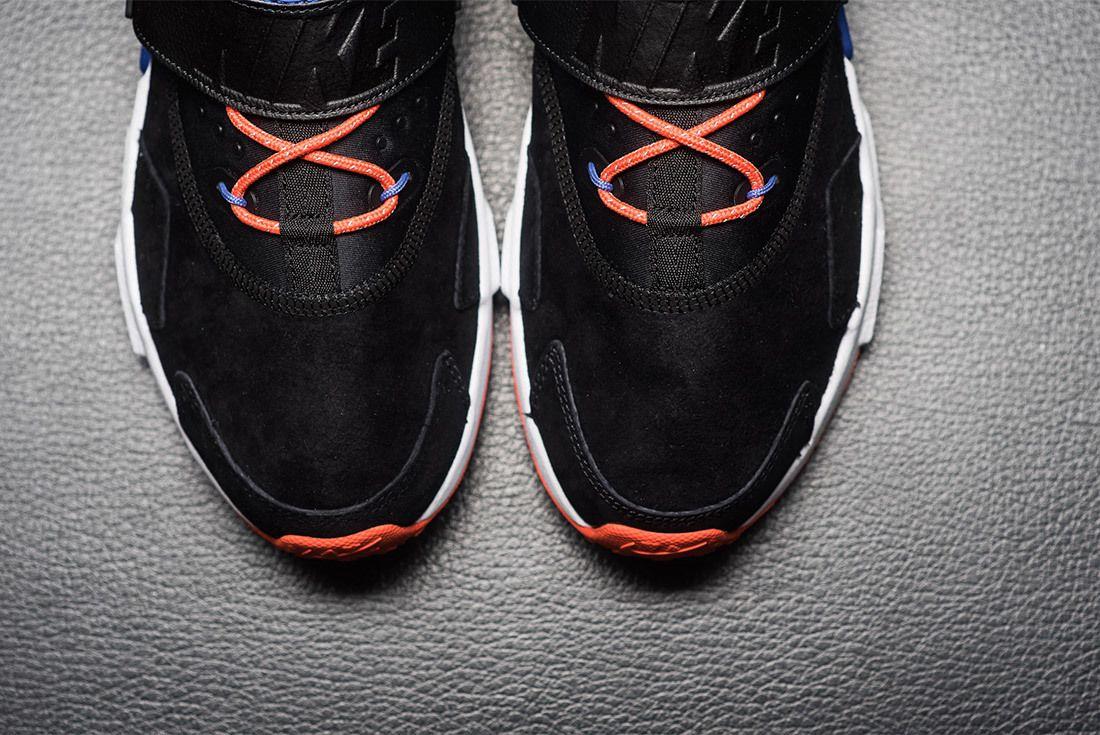Nike Air Huarache Drift Premium Black Rush Violet Rush Orange Ah7335 002 Sneaker Freaker 7