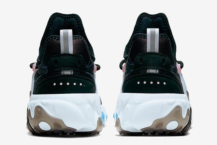 Nike React Presto Trouble At Home Heel Shot