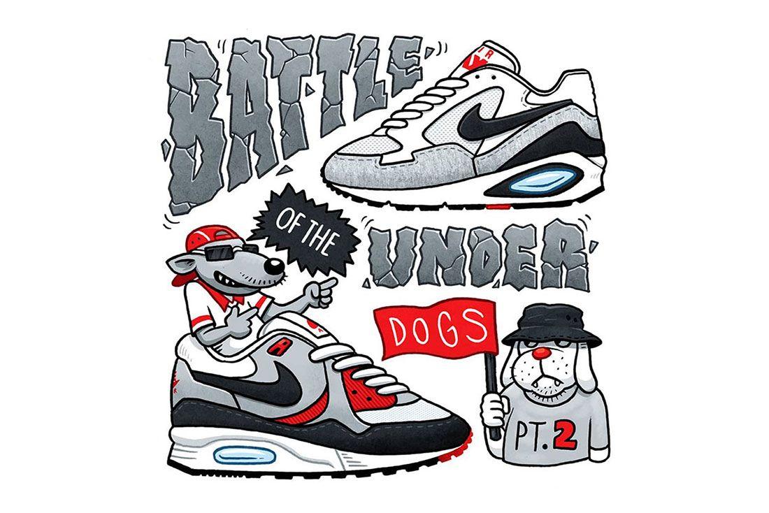 Jonas Cozone Sneaker Battle Underdogs