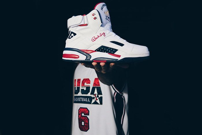 Patric Ewing Eclipse 1992 Olympic Dream Team White 2