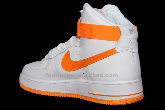 Nike Air Force 1 Hi Vivid Orange 05 1