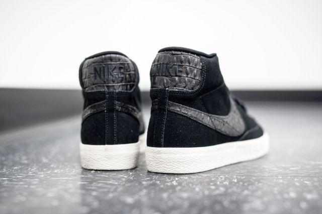 Nike Blazer Mid Black Sail 3