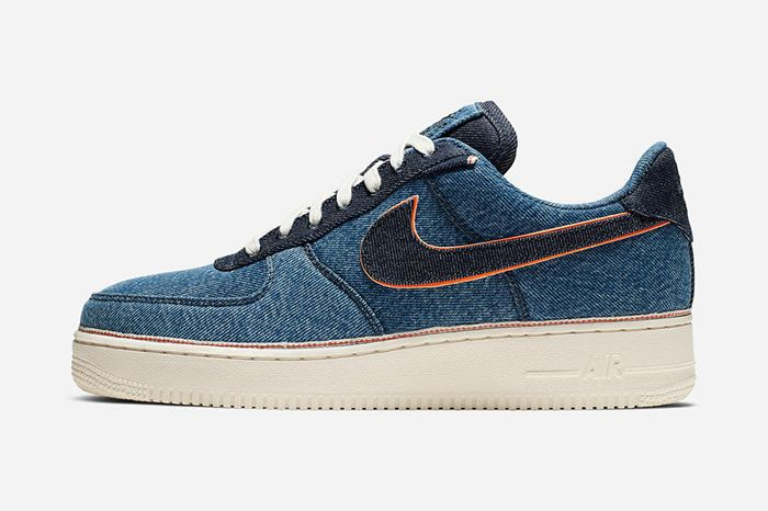 3X1 Nike Air Force 1 Low Denim Light Release Date Lateral