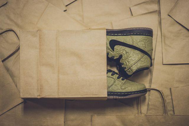 Nike Sb Dunk High Prem Brown Paper Bag3