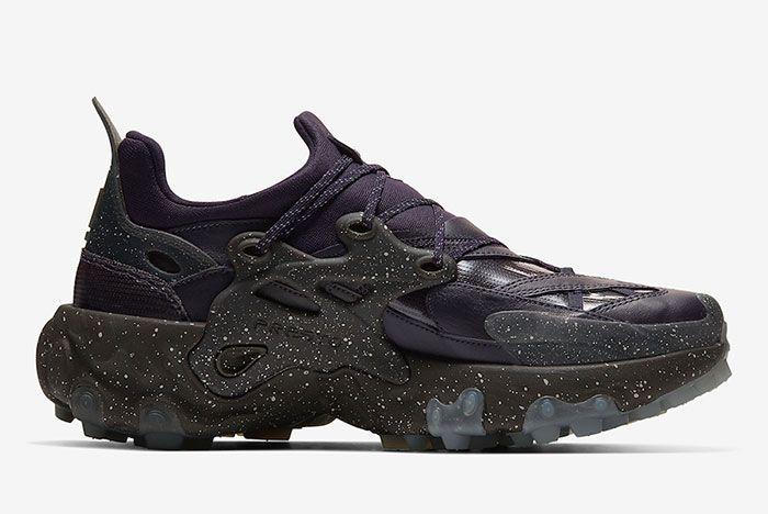 Undercover Nike React Presto Purple Medial Side Shot