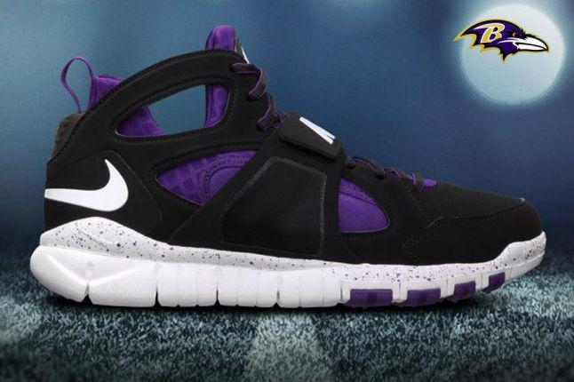 Baltimore Ravens Huarache Free Shield 1