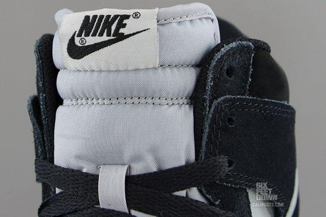 Nike Dunk High Black Reflective Silver Tongue