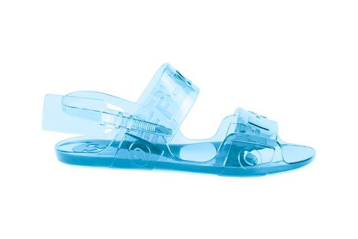 Offwhite Jelly Sandal 2