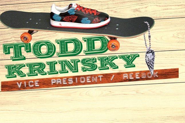 Todd Krinsky Reebok Vice President 21