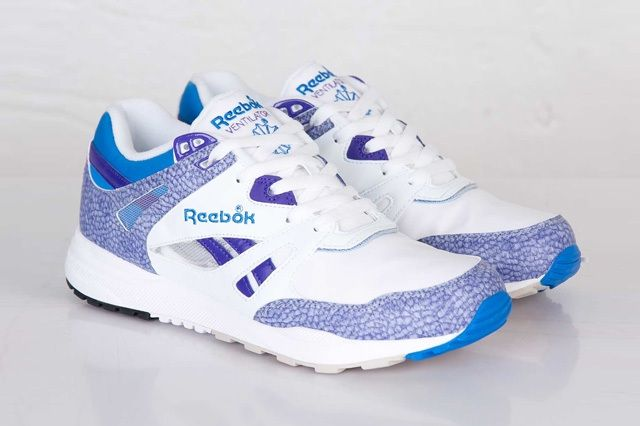 Reebok Ventilator White Purple Blue 5