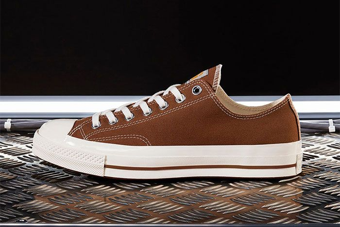 Carhartt Wip Converse Chuck Taylor 70 Brown Lateral Side Shot