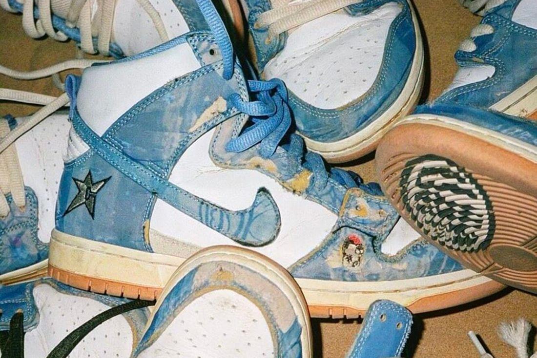 carpet company  Nike Sb dunk high