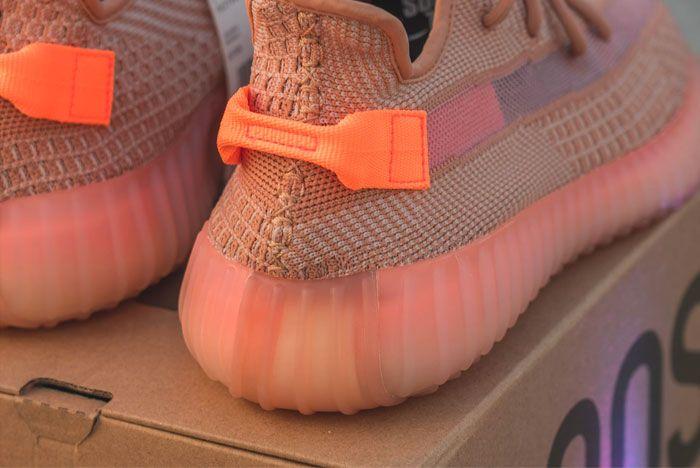Sneak Peek Adidas Yeezy Boost 350 Clay Heel 2