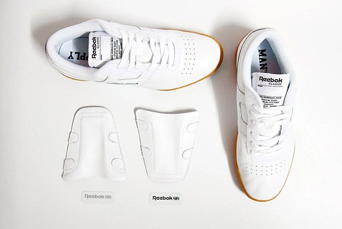 Beams Reebok Workout Low White 4