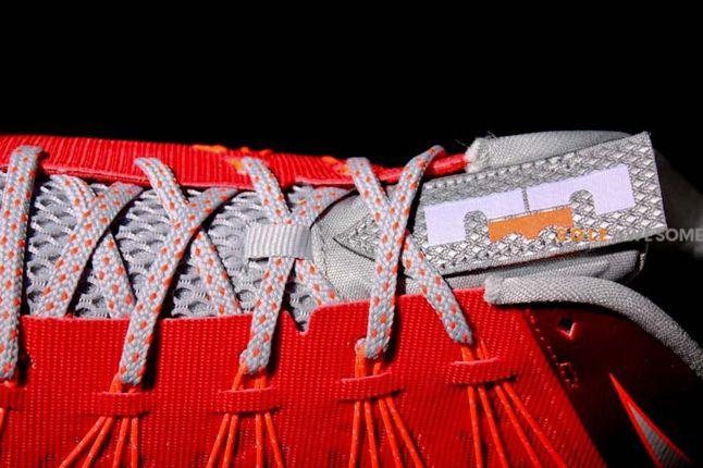 Lebron X Low Uni Red Coca Cola Lace Detail 1