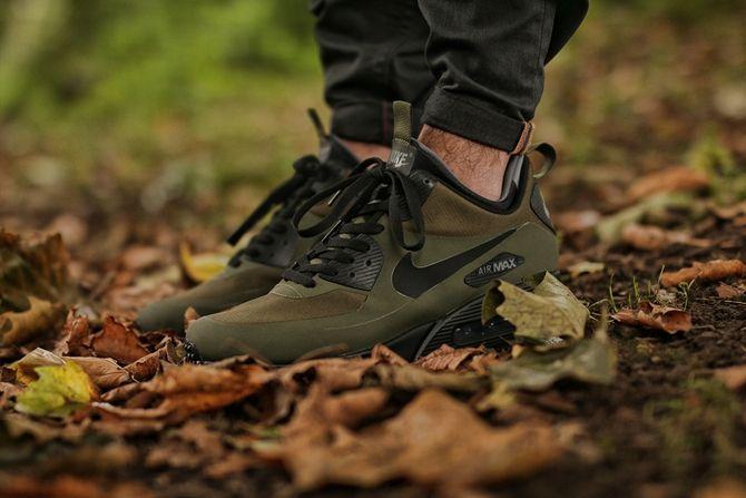 Nike Air Max 90 Mid Winter Dark Loden Black Dark Grey 1