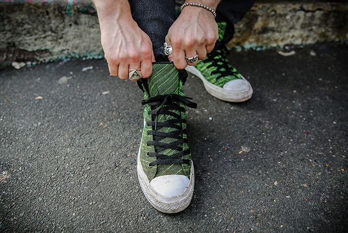 Lucas Blackman Converse Chuck 2 Knit Pack 3