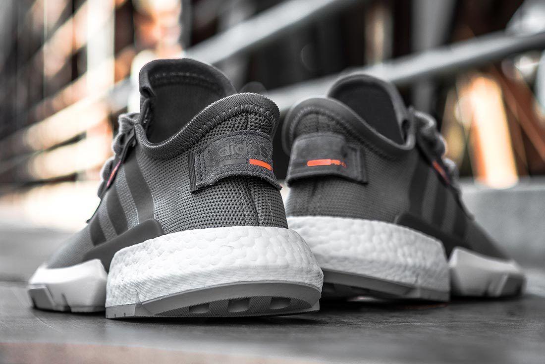 Adidas Pods3 1 Grey Solar Orange Plate 1
